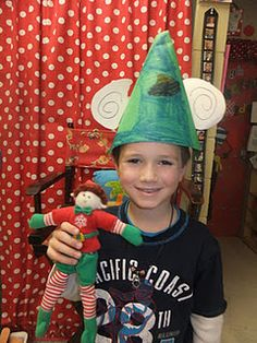Bring your elf to school day