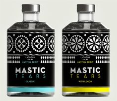 Mastic Tears Liqueur — Dolphins Communication Design
