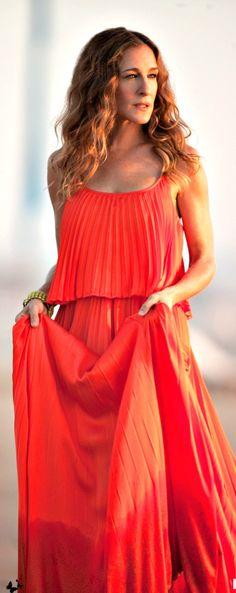 SJP - I got a similar dress from @Roni Kantor fun!