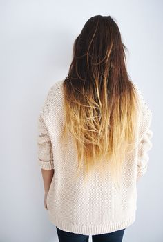 In love with ombre.