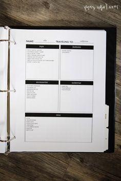 Homekeeping Binder:  Blog and Misc Printables