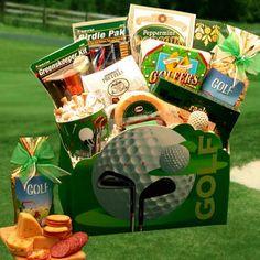 DIY Golf Gift Basket