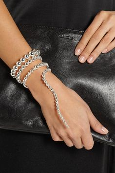 A fashion favorite, #PaulaMendoza's serpent designs are now available in silver! #exclusive