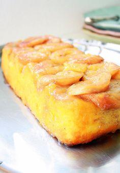 Pratos e Travessas: Bolo de arroz e bananas caramelizadas | Recipes, photography and stories