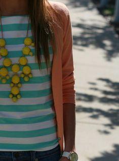 Bubble necklace.