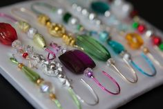 Ornament+Hanger+Assortment++Decorative+Beaded+by+JustHangOn,+$16.50
