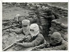 indian infantrymen, infantrymen train