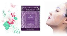 Collagen Essence Full Face Mask -  http://www.glamourgirly.com/collagen-essence-full-face-mask-10-pieces/