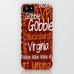 Hokieland iPhone Case by Jordan Virden - $35.00