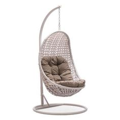 ZUO Sheko Cradle Chair in Pearl-703105 at The Home Depot