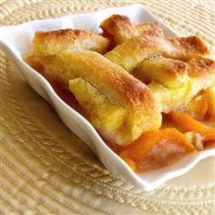 Too Easy Peach Cobbler Allrecipes.com