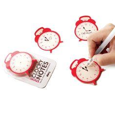 Sticky Clock Notes 2 Pack
