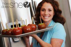 homemade caramel for caramel apples!!