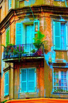 Beaded New Orleans Balcony