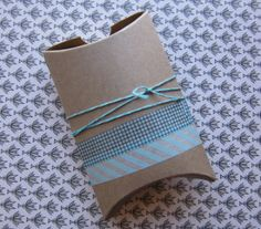Pretty pillow box