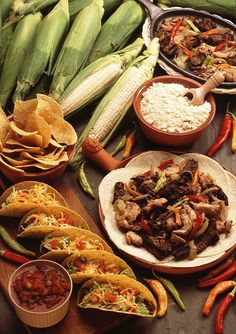 ¡Comida Mexicana!