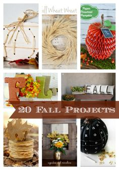 20 Fall Projects