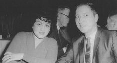 Patsy Cline, with husband, Charlie Dick.