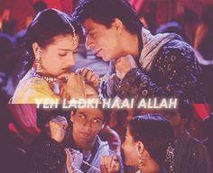 Hindi gif; Pagal deewana, is ko samjana XD// Yeh Ladka Hai Allah // (http://luminous-x.tumblr.com/post/25573052964)