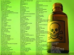 GMO FOODS TO AVOID!