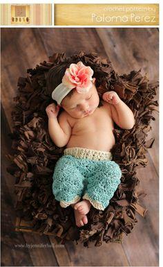 INSTANT DOWNLOAD  Crochet Baby Pants Pattern  Crochet by palomapch, $4.99