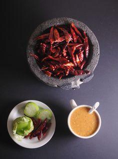 Rick Bayless ~ Salsa Roja de Chile Arbol via @Vianney Rodriguez