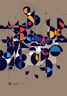 Qalto – Experimental Typeface Design by Áron Jancsó