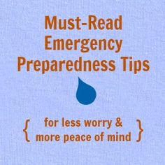 #EmergencyPreparedness tips, how to prepare for a #NaturalDisaster. Dbl-click pic for article! #Celiac #coeliac