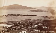 ALCATRAZ MEMORIES: Old Pic of the Rock (courtesy NPS-Alcatraz Island)