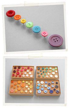 chinchetas con botones