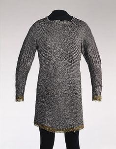 Mail shirt, 15th century, Southern German (?), Steel, brass