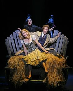 YOUNG FRANKENSTEIN original broadway cast starred Sutton Foster as Inga, Megan Mullally as Elizabeth, Roger Bart as Dr. Frankenstein, and Christopher Fitzgerald as Igor!