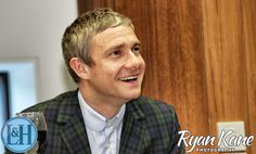 His smile!!!! <3 Martin receives the James Joyce Award at UCD in Dublin