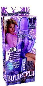 Bundle Fluttering Butterfly - Purple And Pjur Original Body Glide Lube - 100ml by Nasstoys. $96.75. Rabbit Style Vibrators///Misc. Package of 2. Bundle Purple Fluttering Butterfly multi-function vibrator. Features 16 exciting functions with rotating beads and shaft. Hundreds of indepenently controlled combinations and sensations. Choose from twisting, vibrating, rotating, and pulsating. Waterproof with a hygienic silicone base. Batteries not included. and Slippery Stuf...