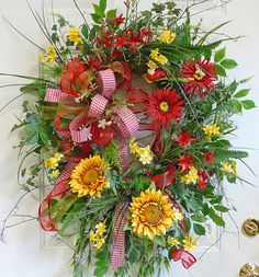 Sunflowers, gerbers
