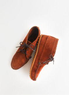 Madewell Minnetonka® suede ankle boots.
