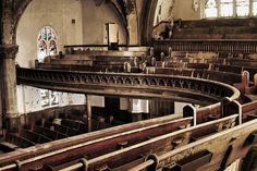 Abandoned Church In Detroit, MI