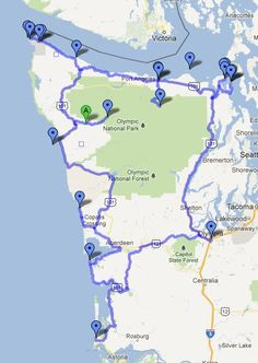 Possible itinerary and route