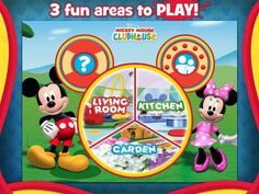 Discount: Mickey Mouse Clubhouse Paint & Play HD by Disney for iPad (Old Price: 2.99$, New Price: 1.99$) - a 3D coloring book with 2 themes (including a Halloween theme) and 3 scenes (Living Room, Kitchen and Garden) with Mickey and Minnie as the hosts. http://www.appysmarts.com/application/mickey-mouse-clubhouse-paint-play-hd,id_61127.php