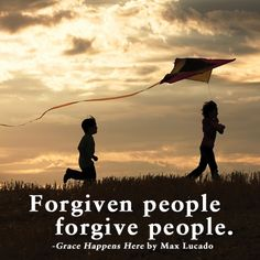 to forgive implying a ...