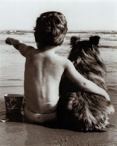 The best of friends are often the canine kind.