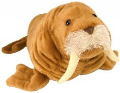 Cuddlekins Walrus (15-inch) at theBIGzoo.com, a toy store with over 12,000 products.