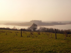 Dusk at Manton Bay, Rutland Water