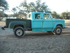 Crew Cab Dodge Power Wagon perkins Diesel... ROAR