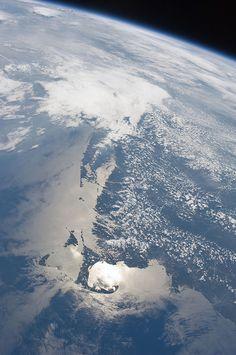 Massachusetts Coastline (NASA, International Space Station, 06/27/11) by NASA's Marshall Space Flight Center, via Flickr