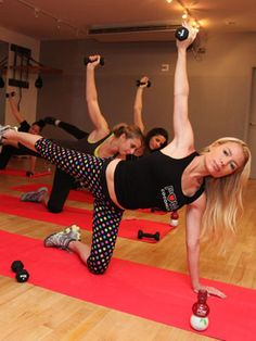Tracy Anderson Does Not Want You to Be Small--If you don't have a workout method that you are into, check out Tracy Anderson Method.  It is fun, challenging, and it gives consistent results.  It never gets boring either.