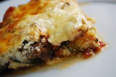 Noodle-Free Lasagna Recipe -WW 6 Points + great for my low carb diabetes meal plan!