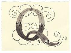 Day 146 • Q • Handwritten Letters • yourhandwrittenletters.tumblr.com