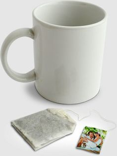 Teabags featuring the happy couple make a cute favor for bridal showers. You can print the photos at Kodak Picture Kiosk. #wedding #shower  #photography #ideas #diy #craft