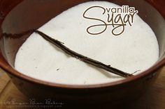 Vanilla Sugar. Easy & delicious. Great for gift giving!